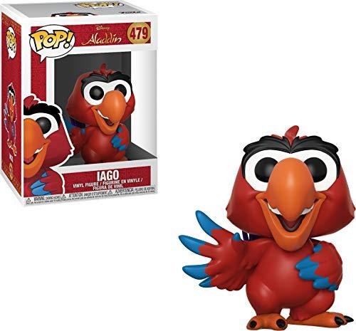 Funko 35756  Pop! Disney: AladdinIago, Standard, Multicolor