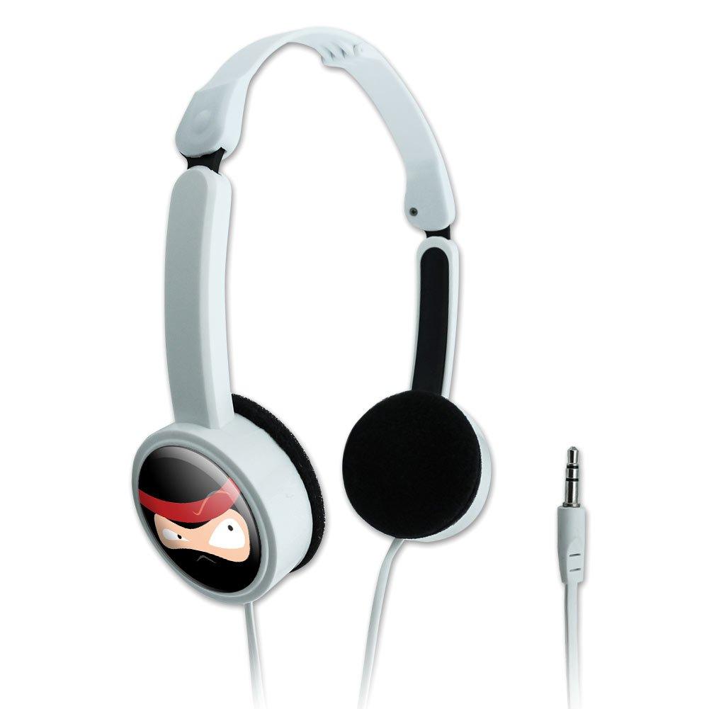 Novedad viaje portátil plegable On-Ear auriculares Funny ...