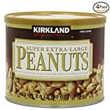 Kirkland Signature Super XL VA Peanuts, 40 Ounce, 3 Pack