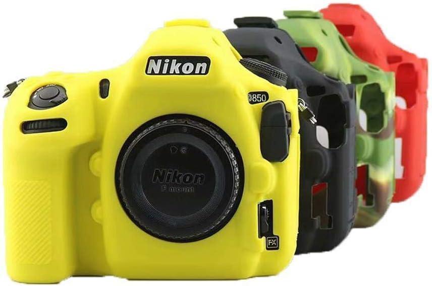 DIODIOR para Nikon D90 Camera Bag Case DSLR Soft Silicone Rubber Protection Case, D90 Green