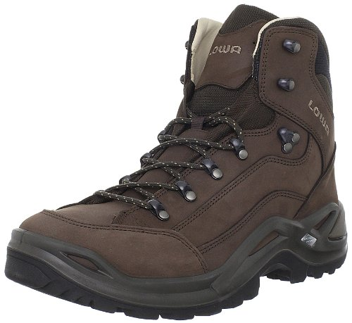 Lowa Men's Renegade II Leather-Lined Mid Hiking Boot - Es...