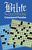 img - for Bible Quotations Crossword Puzzles by Boris Randolph (2002-05-03) book / textbook / text book