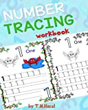 Children's Book: TRACE NUMBERS (Numbers Tracing Workbook for 3-5 year old): Perfect For Nursery and Preschool!!!