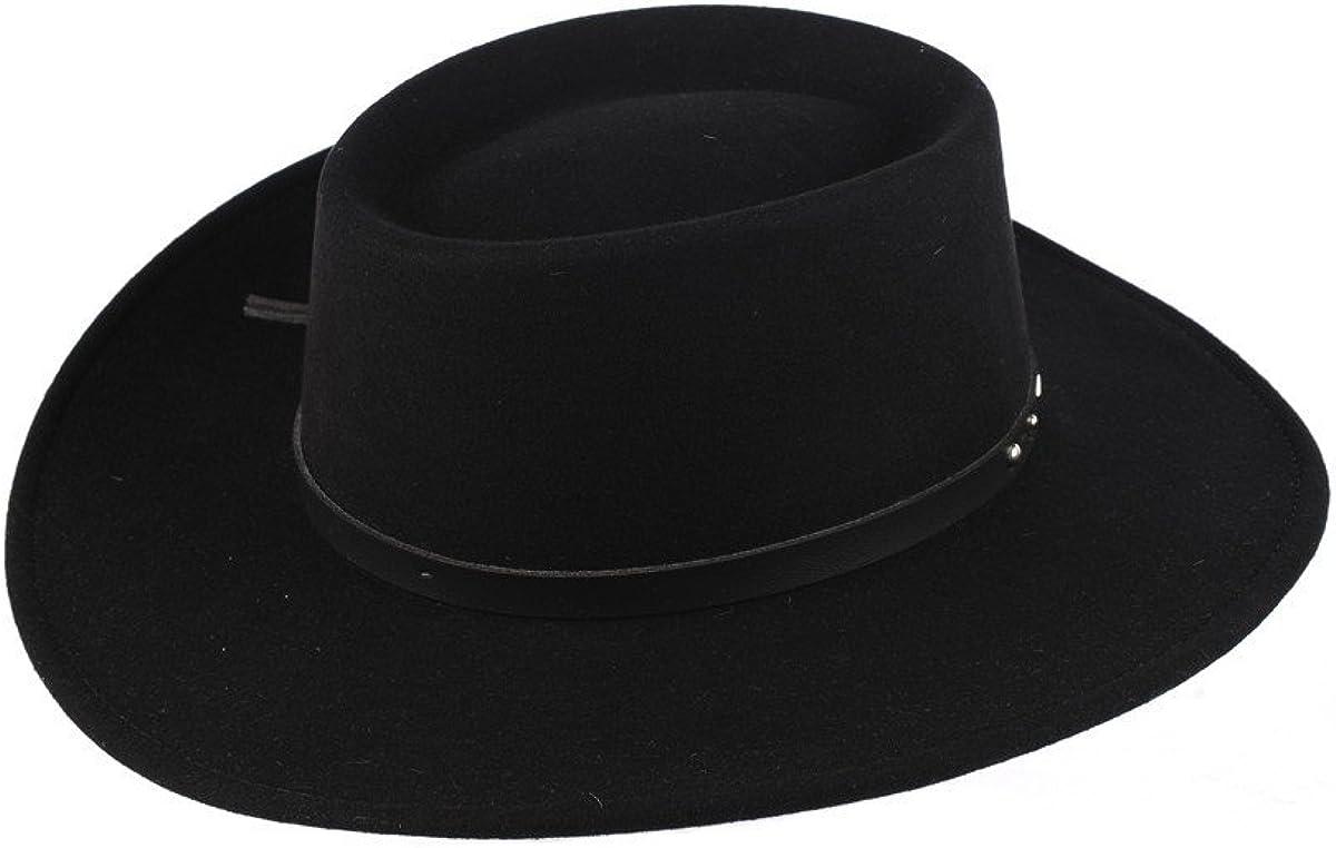 Stetson Black Hawk Wool Felt Western Hat