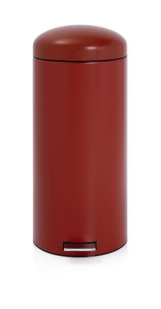 Amazon.com: Brabantia 479304 30-liter Retro cubeta de basura ...