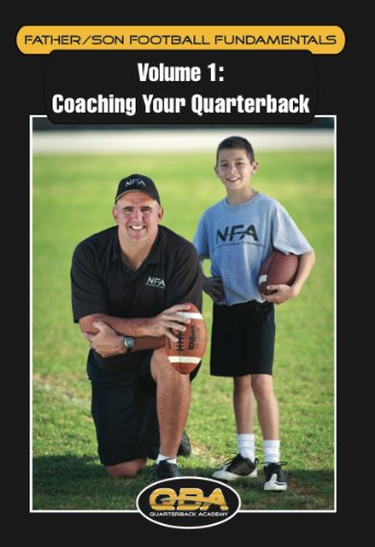 Darin Slack's Volume 1 DVD ''Coaching your Quarterback'' Father Son Football Fundamentals for Quarterback Instruction & Training by National Football Academies