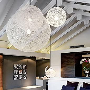 TIANLIANG04 Kronleuchter Die Kommission Kugel Kronleuchter Rattan Ball  Balkon Restaurant Ma Kugel Licht Schlafzimmer Lampen,