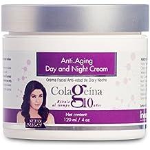 Colageina 10 Day and Night Cream, Anti-Aging - 4 fl oz