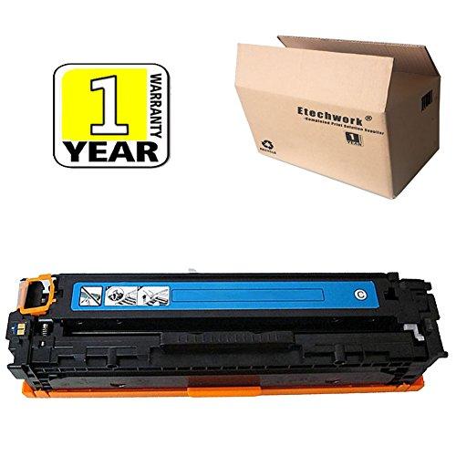 Etechwork 1 Pack 305A CE411A Color Toner Cyan Compatible for LaserJet Pro 400 Color M451dn M451dw MFP M451nw MFP M475dn MFP M475dw LaserJet Pro 300 Color MFP M375nw Printer