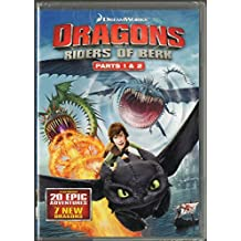 Dragons: Riders of Berk - Part 1 & 2 Complete First Season Four-Disk Set