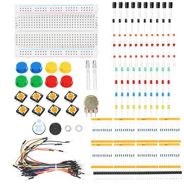 Incredible Amazon Com Ks Starter Learning Electronic Kit For Resistor Led Wiring 101 Capemaxxcnl