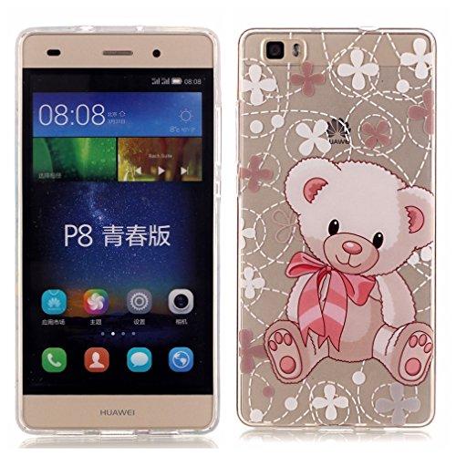 Huawei P8Lite Phone Case,Huawei P8 Lite Book Case,[Scratch ...