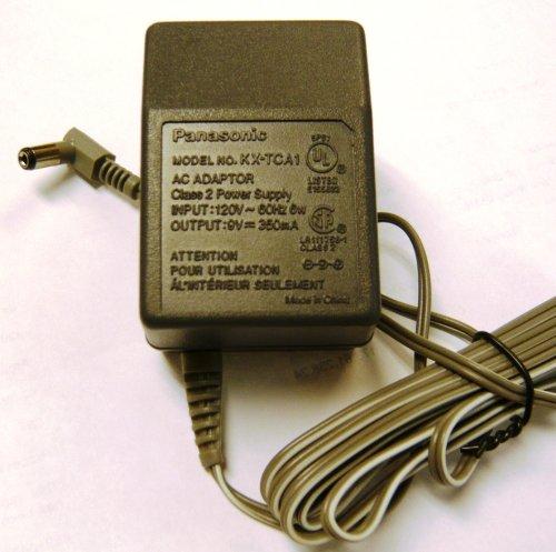 Panasonic AC Adapter KX - TCA1 9V 350mA by - Panasonic Wide Adapter