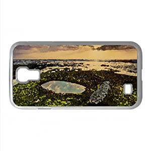 Low Tide Watercolor style Cover Samsung Galaxy S4 I9500 Case (California Watercolor style Cover Samsung Galaxy S4 I9500 Case)