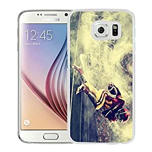 USC Trojans 05 White Hard Plastic Samsung Galaxy S6 G9200 Phone Cover Case