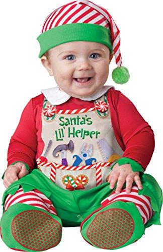 Fun World InCharacter Costumes Babys Santas Lil Helper Costume