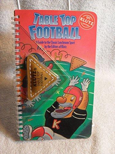 Klutz Book Table Top Football