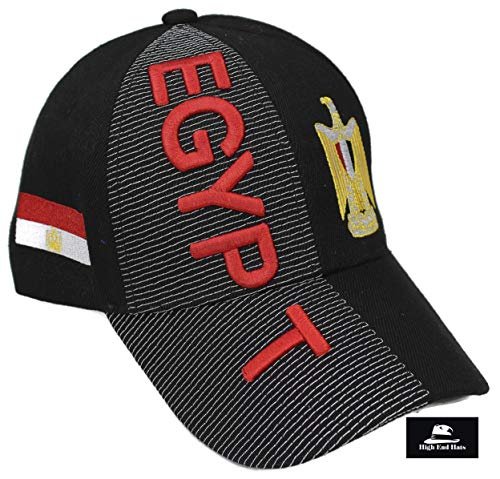"""76a35efac99 High End Hats """"Nations of Africa Hat Collection"""" 3D Embroidered Adjustable  Baseball Cap"""