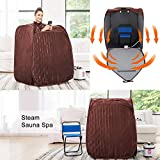 pardise Portable Steam Sauna Towel for Folding