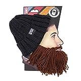 Beard Head - The Original Barbarian Vagabond Knit Beard Hat (Brown)