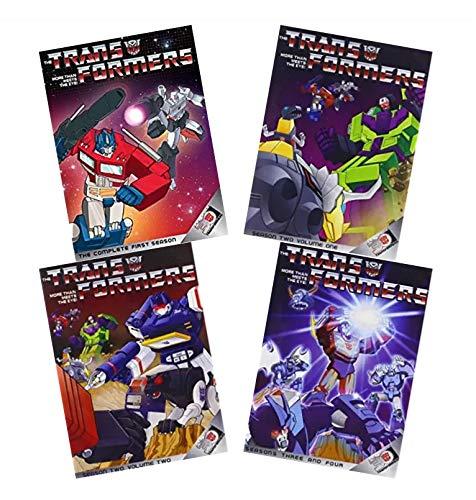 Transformers: More Than Meets The Eye - The Complete Series Collection (Season 1 / Season 2, Volume 1 / Season 2, Volume 2 / Seasons 3 & 4) [DVD]
