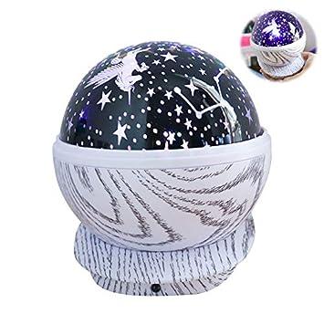 LYXCM Cielo Estrellado Luz Nocturna Galaxia Proyector Mágico ...