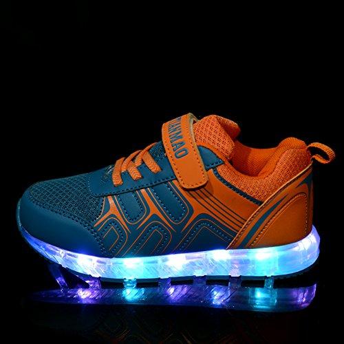 06551dbd2bd44e ... Led Schuhe  Kidslove Led schuhe kinder Winter Ledschuhe LED Sportschuhe  Kinder USB Aufladen ...