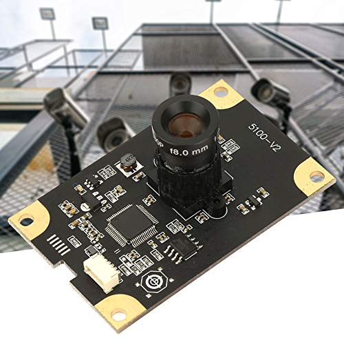 5 Million Pixels 60° Wide Angle Lens USB Camera Module with MI5100 Chip for Security Monitoring Industrial Equipment