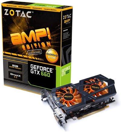 Amazon.com: Zotac GeForce GTX 660 Amp 2 GB GDDR5 192-bit PCI ...