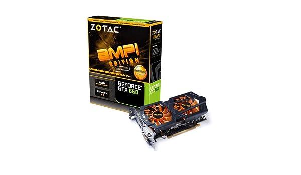 Zotac ZT-60902-10M - Tarjeta gráfica Nvidia GTX 660 (960 MHz ...