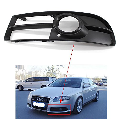 Front Lower Side Bumper Fog Light Grille Left for Audi A4 B7 S-line S4 2005 2006 2007 2008