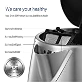 COMFEE' Stainless Steel Cordless Electric