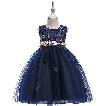 ZSRHH-Falda Vestido de Mujer Niñas Bowknot Princesa Vestido de ...