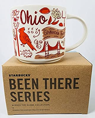 Amazon Com Starbucks Ohio Mug Been There Series Across The Globe Collection Kitchen Dining