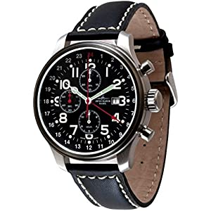 Zeno-Watch Mens Watch - OS Pilot Chronograph GMT - Limited Edition - 8753TVDGMT-a1