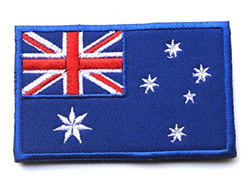 Embroidery Each Countrys Flag Patch (3X2, Australia)