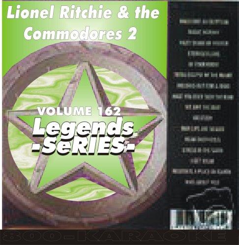 Lionel Richie Karaoke - Lionel Richie Commodores V.2 Karaoke CD+G Legends #162 16 Song Disc