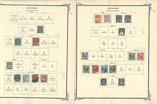 West Indies Collection (Denmark & West Indies Collection 1851-1960 on 25 Scott Specialty Pages)