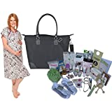 Posh Mama C-section Prepacked Hospital Labor Bag and Hospital Gown