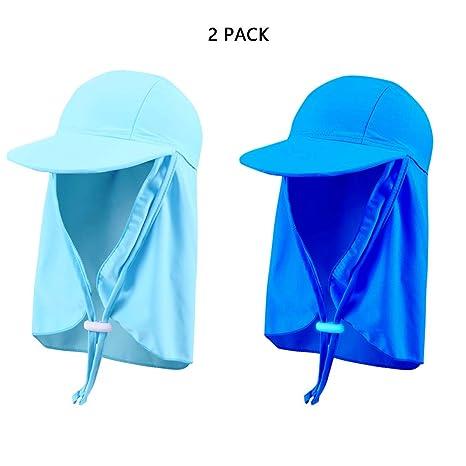 MIMI KING Sombrero de legionario UV para niños Visor de ...