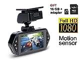 Gazer F117 Full HD Dash Camera Recorder Rotation 2.7″ Dash Cam, in Car Recorder, Keys Backlight Motion G Sensor For Sale
