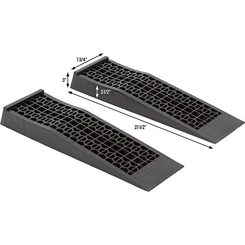 Discount Ramps 6009-V2 Plastic Car Service Ramp, 2 Pack by Discount Ramps (Image #2)