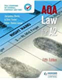 AQA Law for A2 Fifth Edition
