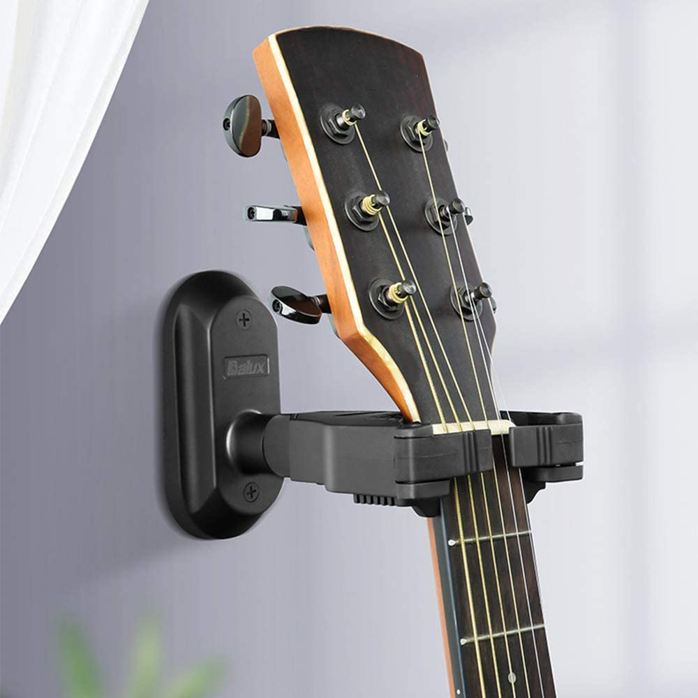 C Five Guitarra De Montaje En Pared Negra De La Cerradura Auto De ...