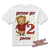 Daniel Tiger Birthday Shirt, Daniel Tiger Family Birthday Tshirt, Matching Shirts, Daniel Tiger Mommy Birthday Party, Daddy Birthday shirt