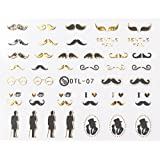 amazon com letter alphabet nail art stickers water transfer decals