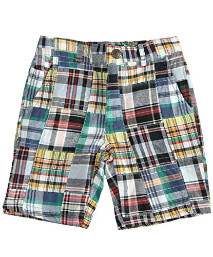 Fore! Axel and Boy Pants L/S Madras Shorts (10/12)