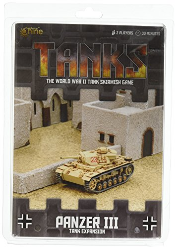 Panzer Iii Tank - Gale Force 9 Tanks German Panzer III Tank Expansion Board Games
