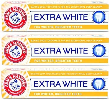 Arm & Hammer Extra White Care Toothpaste 125g (Pack of 3)