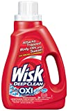 Wisk Deep Clean Liquid Laundry Detergent Plus Oxi Complete, 26 Loads, 50 Ounce